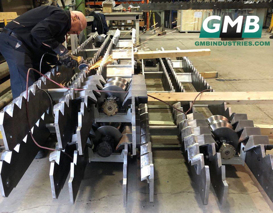 Fixed Rakes and Aligning Rolls by GMB Heavy Industries